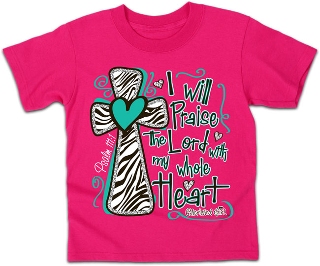 Cherished Girl Kidz T - Praise The Lord