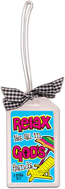 Luggage Tag - Relax