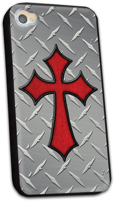 iPhone Case - Treadplate Cross